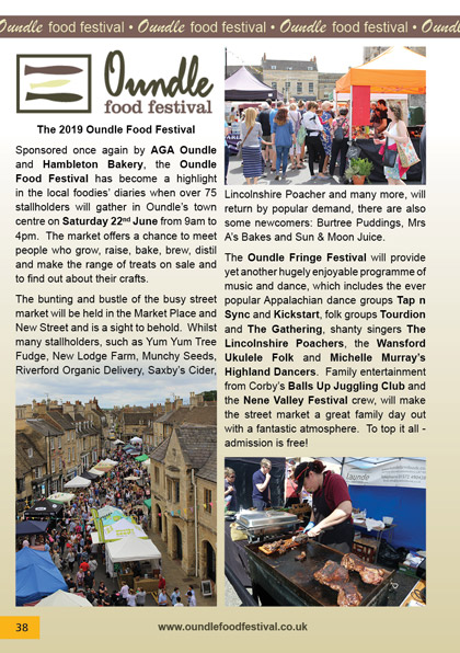 The 2019 Oundle Food Festival