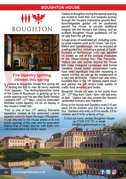 Boughton House May 2019