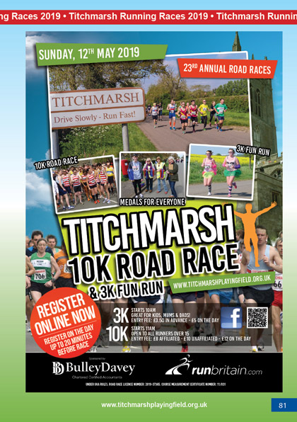 Titchmarsh Running Races 2019