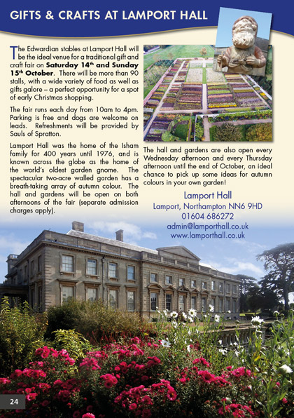 Gifts and Crafts at Lamport Hall
