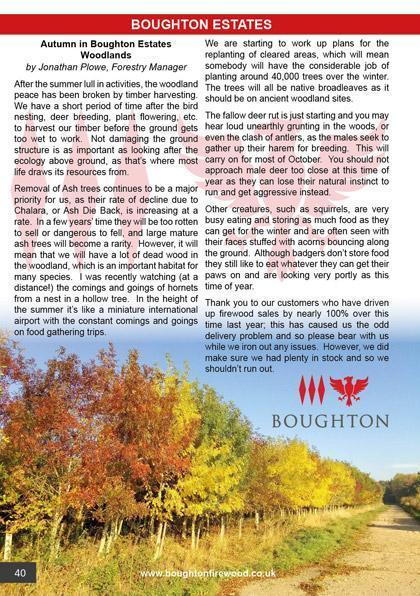 Boughton House September/October 2020