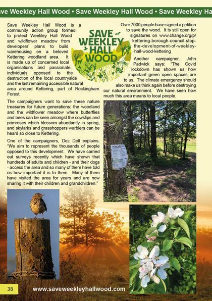 Save Weekley Hall Wood