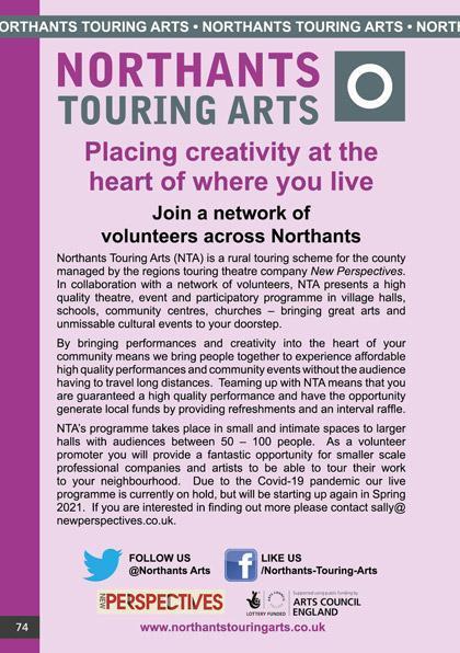 Northants Touring Arts (NTA)